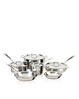 All-Clad - Copper Core 10-Piece Cookware Set
