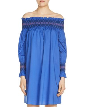 Maje Resky Off-the-Shoulder Dress