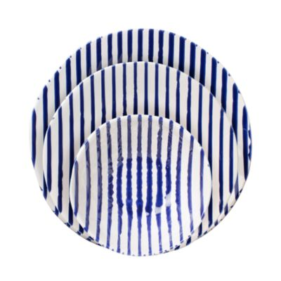 Net & Stripe Stripe Cereal Bowl