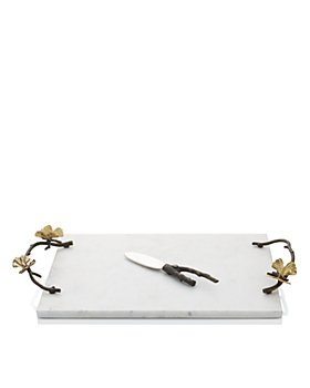 Michael Aram - Butterfly Ginkgo Cheese Board with Knife