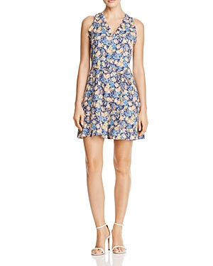 Rebecca Taylor Gigi Floral-Print Silk Dress