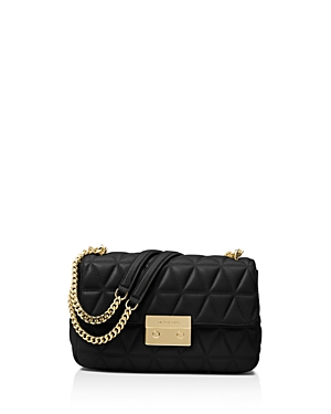 Michael Michael Kors Chain Large Leather Shoulder Bag
