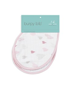 Aden and Anais - Heart Breaker Burpy Bibs, 2 Pack