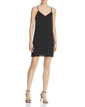 Aqua Fringe Hem Dress - 100% Exclusive