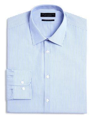 The Men's Store at Bloomingdale's Stripe Regular Fit Dress Shirt