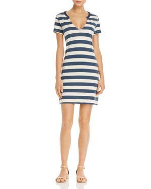 Pam & Gela Stripe Knit Dress