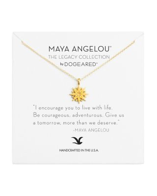 MAYA ANGELOU LEGACY COLLECTION I ENCOURAGE YOU NECKLACE, 16