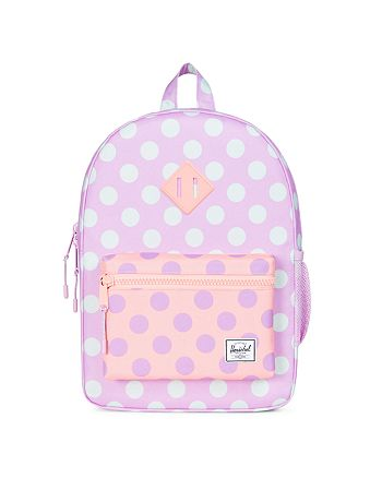aa40569b54 Herschel Supply Co. Girls  Polka-Dotted Heritage Youth Backpack ...