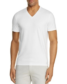 Michael Kors Sleek V-Neck Tee - Bloomingdale's_0