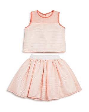 Pippa  Julie Girls Sleeveless Top  Skirt Set  Big Kid