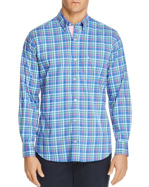 TailorByrd Plum Regular Fit Button-Down Shirt