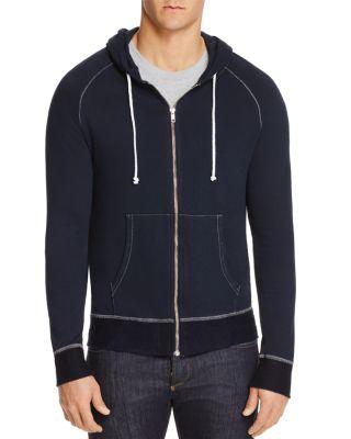 M SINGER Classic Hooded Sweatshirt in Navy