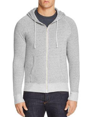 M SINGER Classic Hooded Sweatshirt in Heathered Gray