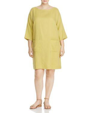 Eileen Fisher Plus Boat Neck Tunic Dress