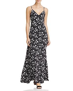 Michael Michael Kors Verbena Floral Print Maxi Dress
