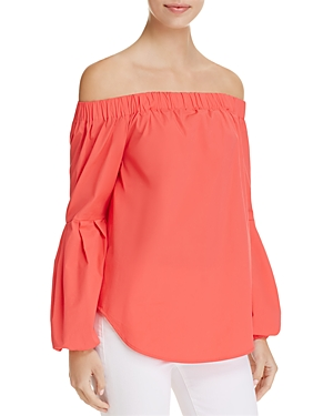 Michael Michael Kors Cold Shoulder Top -100% Exclusive