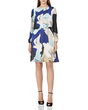 Reiss Neave Watercolor Dress