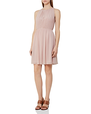 Reiss Charlotte Smocked Dress