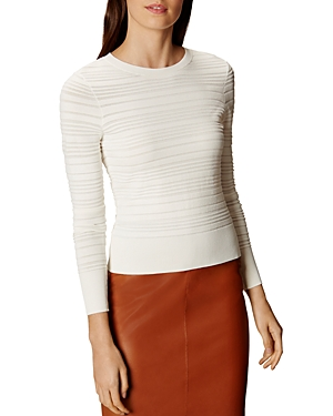Karen Millen Knit Stripe Sweater