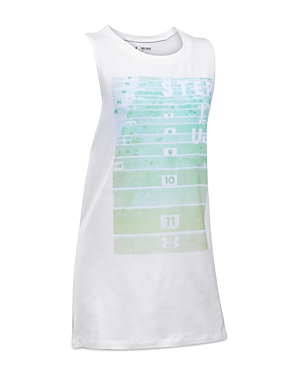 Under Armour Step It Up Muscle Tank - Big Kid
