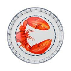 Golden Rabbit Medium Lobster Enamel Tray - Bloomingdale's_0