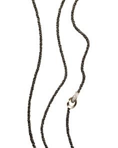 "Antonini 18K White Gold Matera Chain and Silvermist Diamond Necklace, 42"" - Bloomingdale's_0"