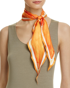 Echo Slice O' Fruit Silk Diamond Scarf