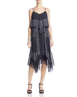 nanette Nanette Lepore Bandana Print Dress