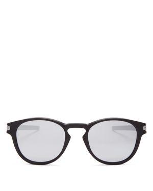 Oakley Latch Mirrored Square Sunglasses, 53mm 1818112