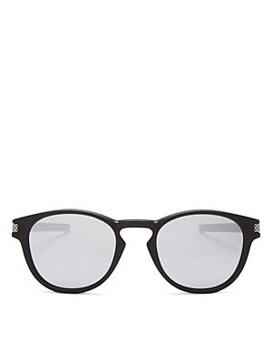 Oakley Latch Mirrored Square Sunglasses, 53mm