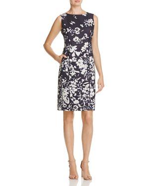 Lafayette 148 New York Evelyn Floral Sheath Dress