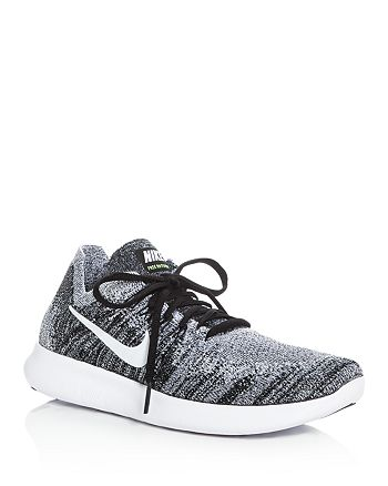 Nike - Nike Women's Free RN Flyknit Lace Up Sneakers