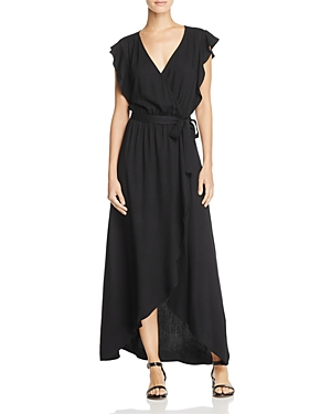 Splendid Maxi Wrap Dress