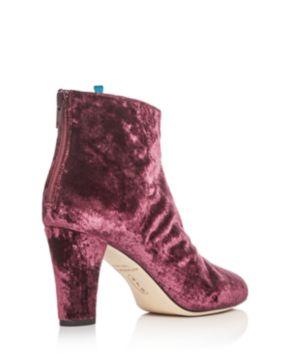 Sjp Minnie Velvet High-Heel Booties - 100% Exclusive ePnebP2v