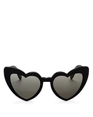 Saint Laurent Women\\\'s Lou Lou Heart Sunglasses, 53mm-Jewelry & Accessories