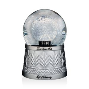 Waterford Times Square Snow Globe