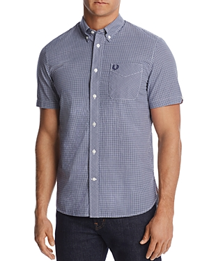a51d62098 EAN 5034604239806 product image for Fred Perry Gingham Classic Fit  Button-Down Shirt