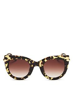 Krewe - Women's Laveau 24K Gradient Cat Eye Sunglasses, 48mm