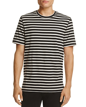 Vince Striped Jersey Tee