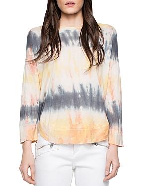 Zadig & Voltaire Kimmy Tie-Dye Silk-Blend Sweater