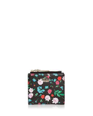 kate spade new york Cameron Street Adalyn Floral Print Leather Wallet 2609998
