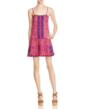 Poupette St. Barth Toiny Printed Tank Dress