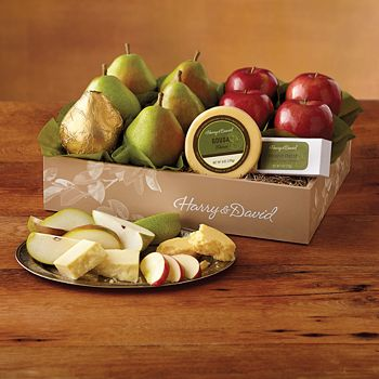 Harry & David - Classic Pears, Apples, and Cheese Gift