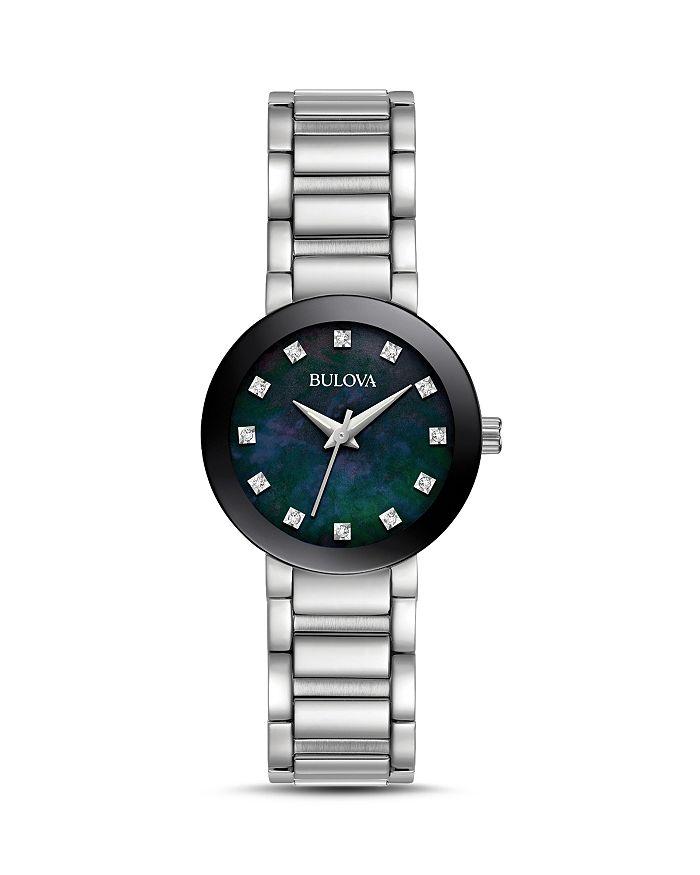 Bulova - Modern Round Watch, 26mm