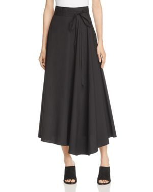 Theory Jaberdina Asymmetric Skirt