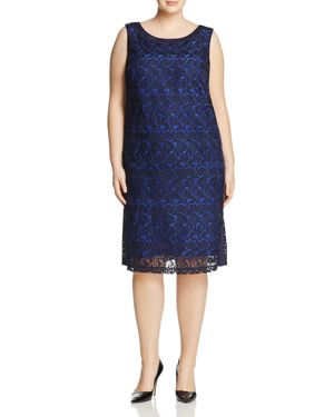 Marina Rinaldi Desideri Macrame Lace Dress