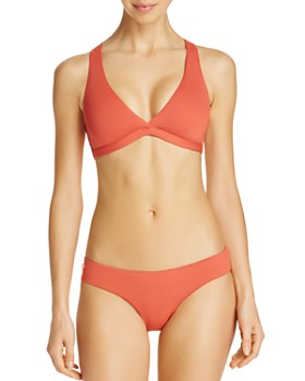 Maaji - Cinnamon Swirl Halter Reversible Bikini Top & Cinnamon Sublime Reversible Hipster Bikini Bottom