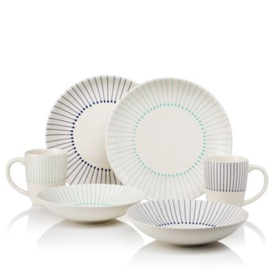 Sparrow u0026 Wren Striped Dinnerware Collection - 100% Exclusive  sc 1 st  Bloomingdaleu0027s : striped dinnerware - pezcame.com