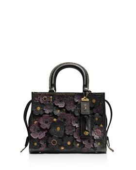 COACH - COACH 1941 Rogue 25 in Glovetanned Pebble Leather with Tea Roses