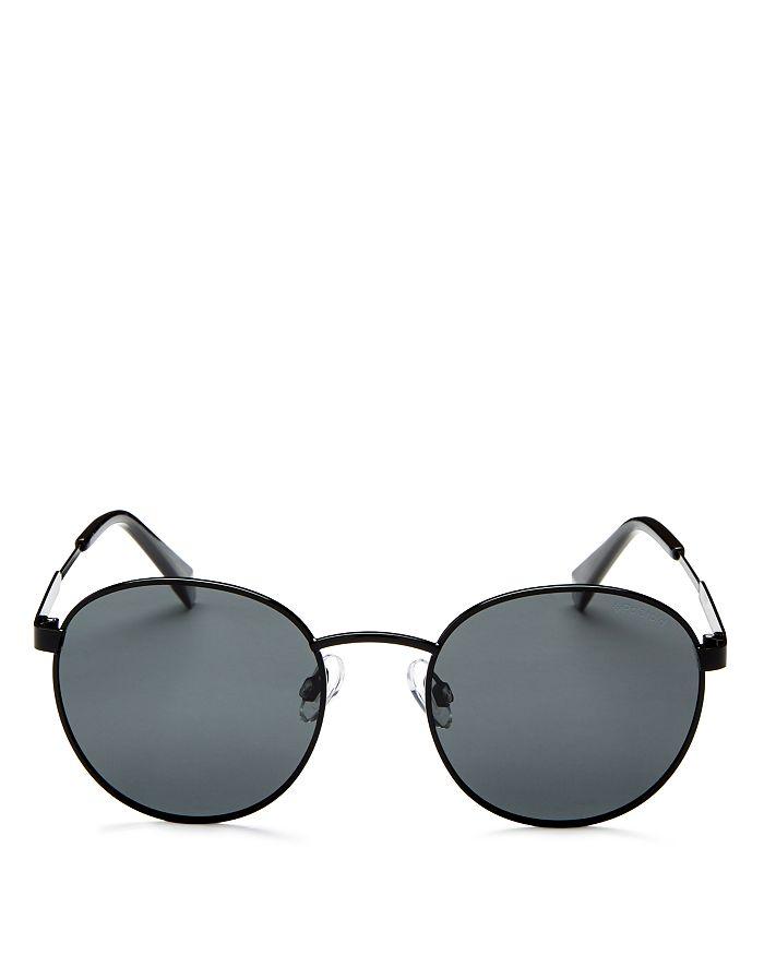 Polaroid - Men's Polarized Round Sunglasses, 50mm